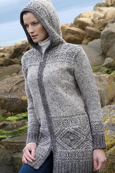 Aran Crafts Sweater Womens Ladies
