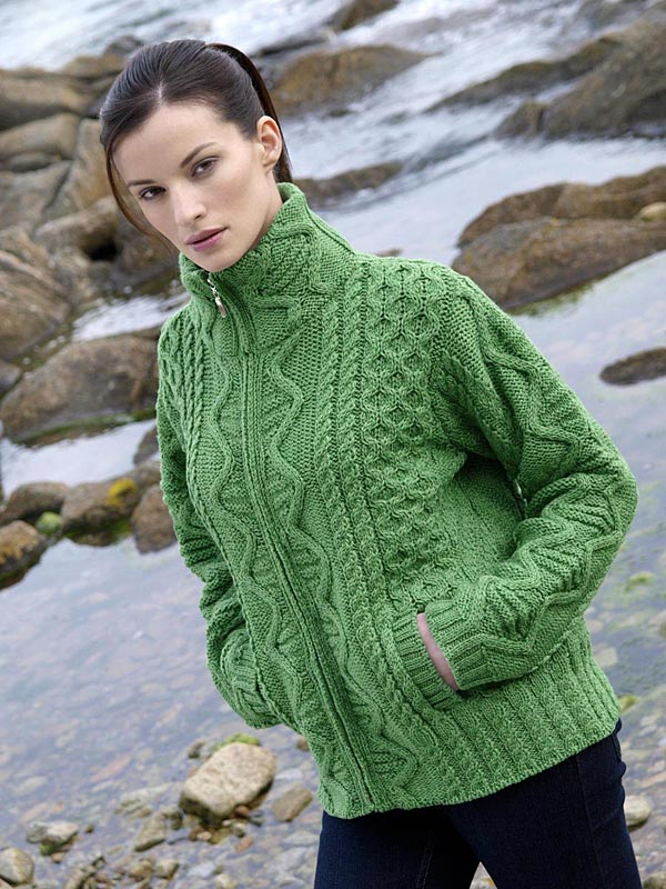 e6cc840b4 Aran Crafts Sweater Womens Ladies