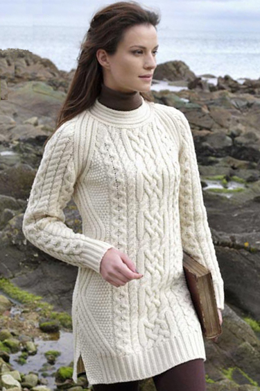 Aran Crafts Sweater Womens Ladies