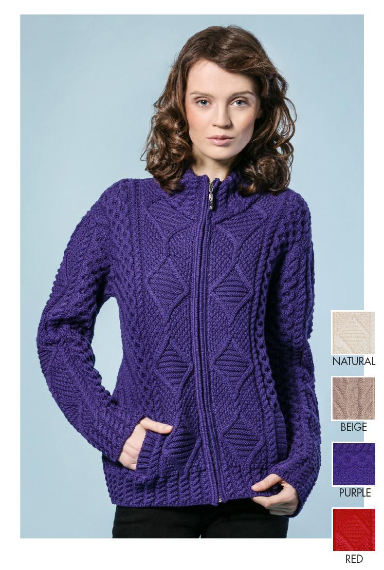 Aran Sweater Private Label Womens Sweaters