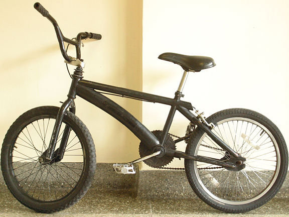 Replacement BMX bike decals and parts