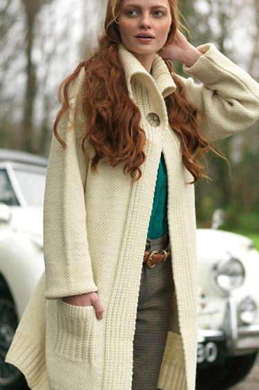 d8a18b05d6 ... Carraig Donn Irish Aran Wool Sweater Womens Cable Knit One Button Long  Cardigan