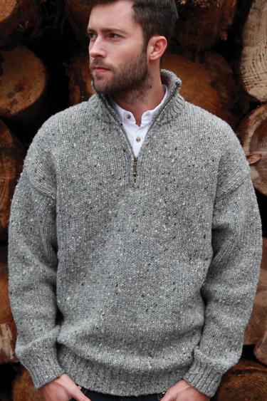 Irish Traditional Aran Sweater