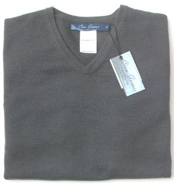 Cian James Mens Suiting V-neck Sweater
