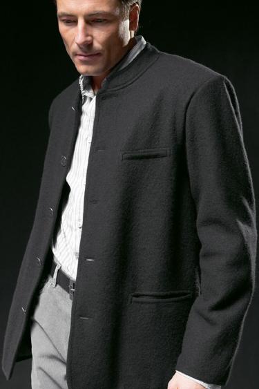 64354 Geiger Of Austria Boiled Wool Jacket