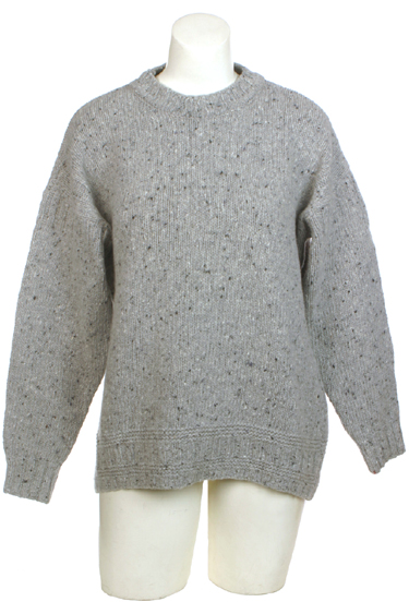Ireland's Eye Mens Crewneck Wool Cashmere Sweater