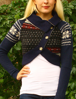 Handmade Patchwork womens miss sweater One Of A Kind